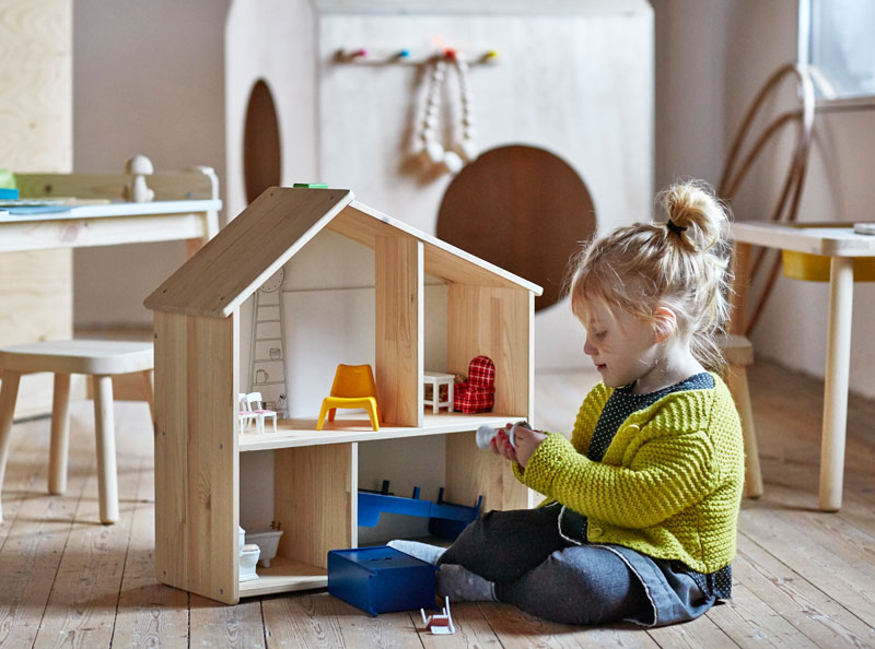 Inspired kids furniture from ikea i want that for Ikea lettino bambole