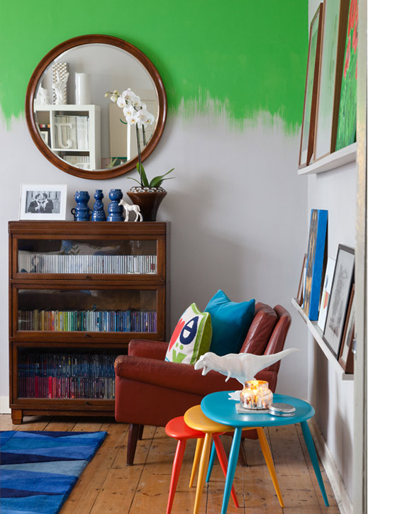 Messy Walls But I Like It: Trend Spot: Messy, Dip Painted Walls