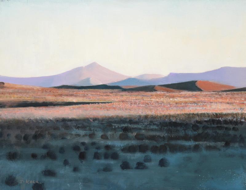 dennis-kalil-karoo-landscape-350x460-oil-on-canvas